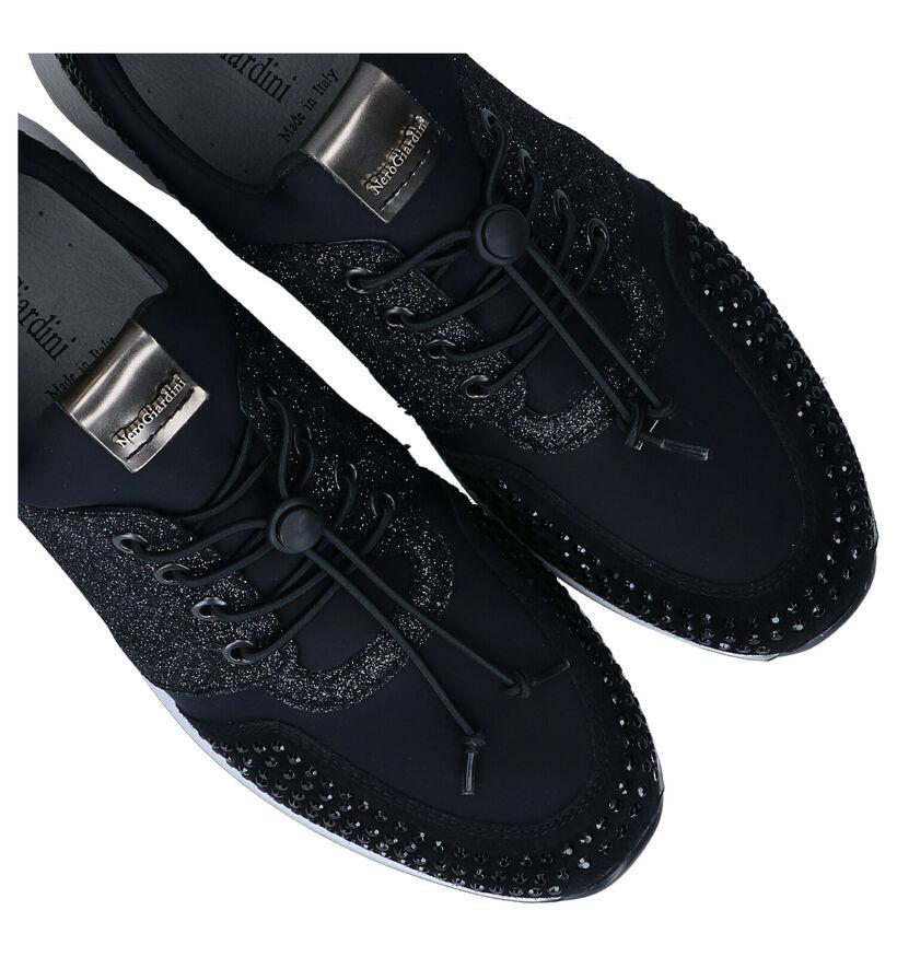 NeroGiardini Baskets slip-on en Noir en cuir (278972)
