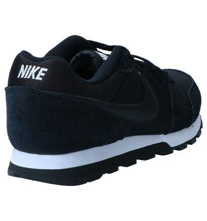 Zwarte Sneakers Nike MD Runner 2 in daim (250252)