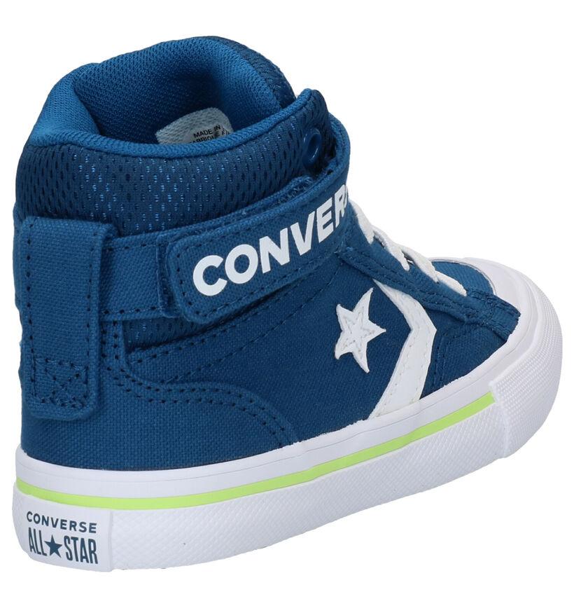 Converse Pro Blaze Blauwe Sneakers in stof (284431)