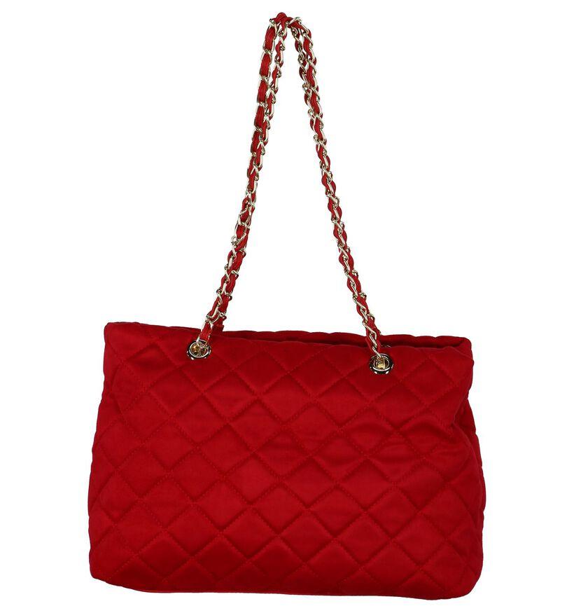 Valentino Handbags Cabas en Rouge en textile (232799)
