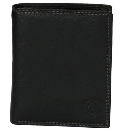 Cloverfield Zwarte Portefeuille in leer (263684)