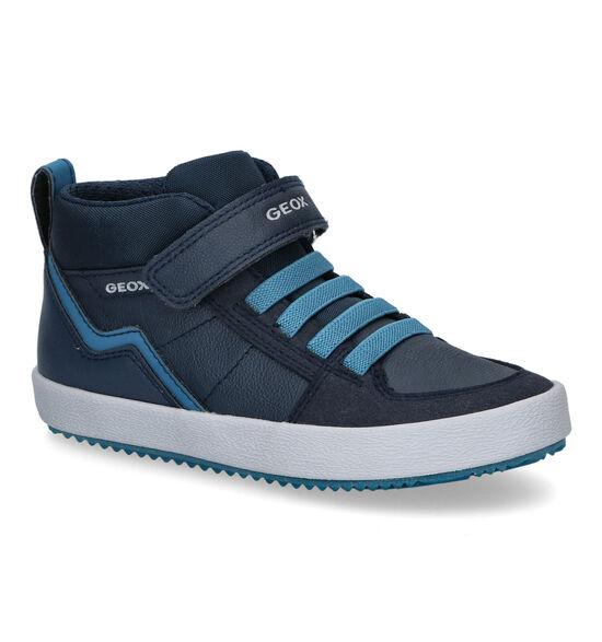 Geox Alonisso Blauwe Hoge Schoenen