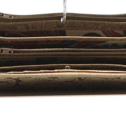 Maverick Beige Overslagportemonnee in nubuck (208021)
