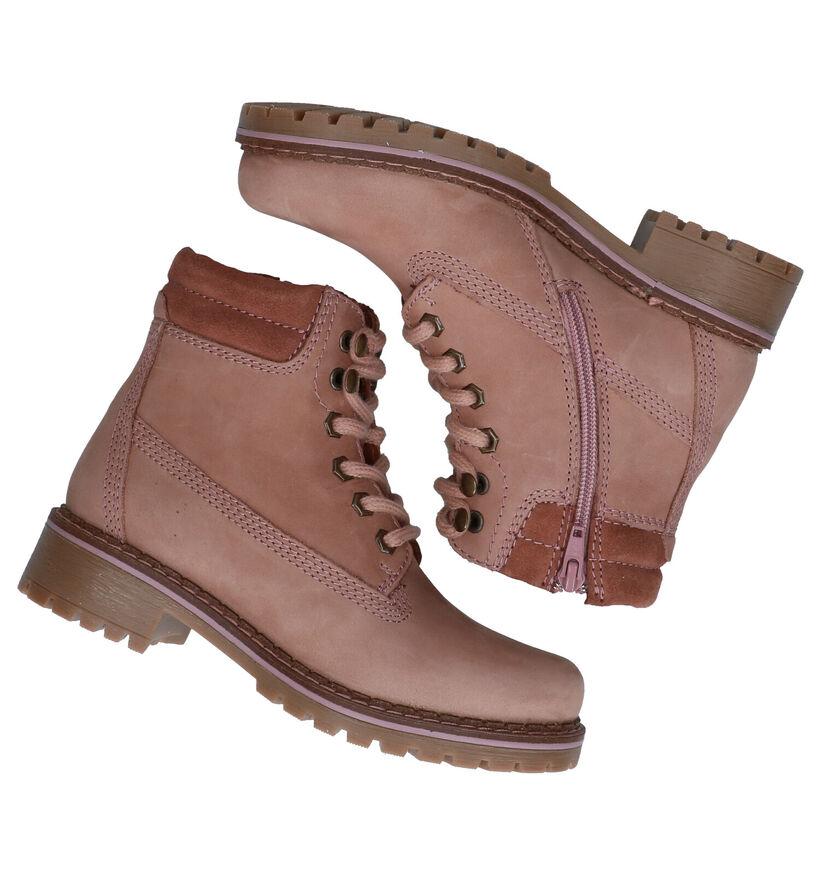 Dazzle Blauwe Boots in nubuck (278836)