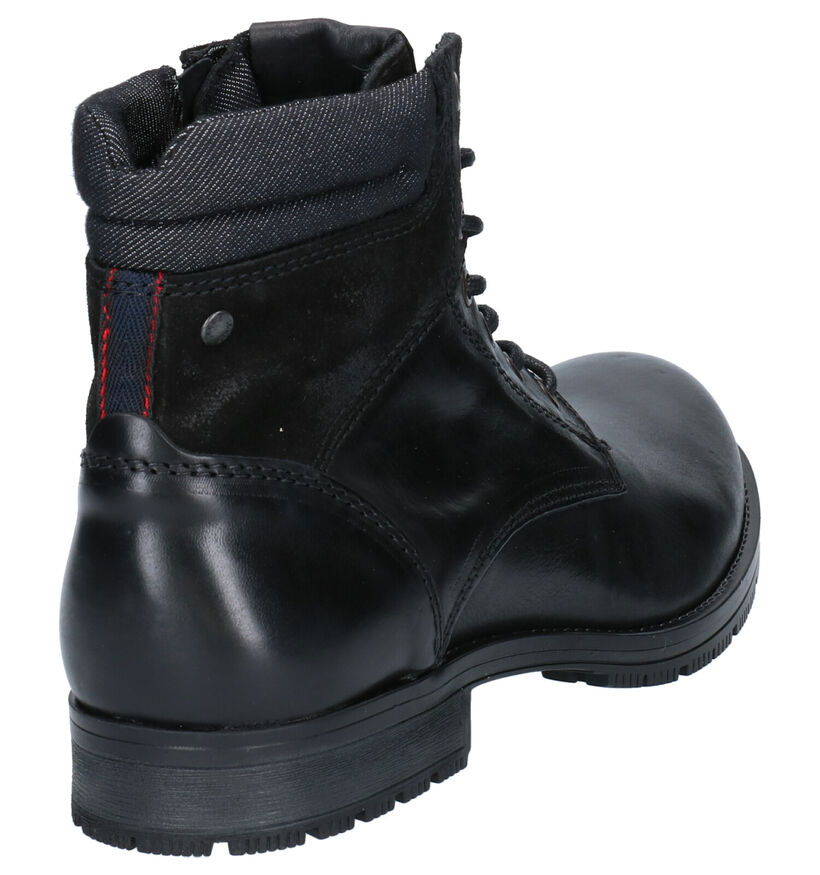 Jack & Jones Zachary Bruine Boots in leer (252836)
