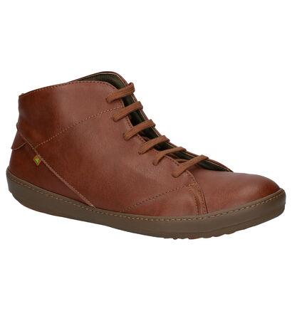 El Naturalista Meteo Vegan Cognac Boots in imitatieleer (259352)