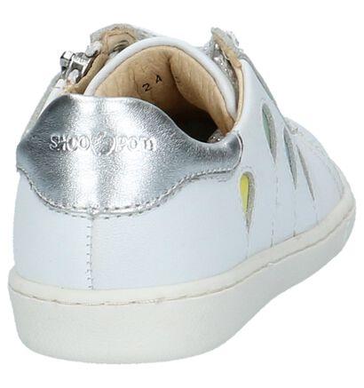 Shoo Pom Chaussures basses en Blanc en cuir (242873)