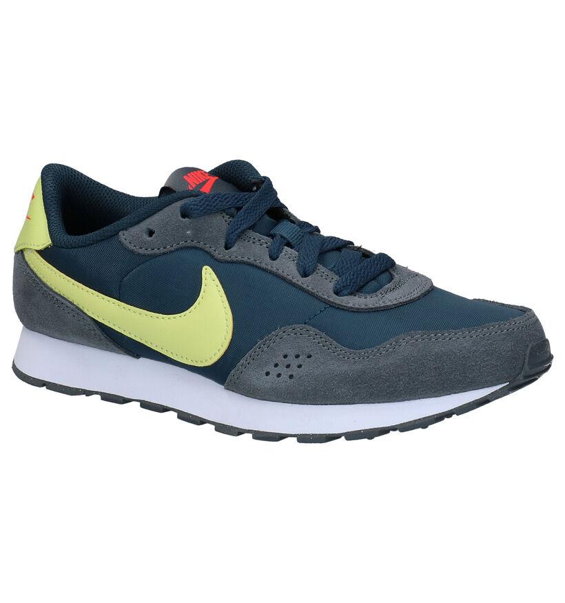 Nike MD Valiant Blauwe Sneakers in stof (277532)