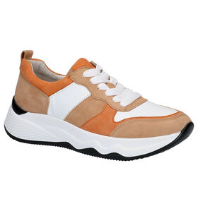 Gabor Best Fitting Chaussures à lacets en Brun en cuir (271634)