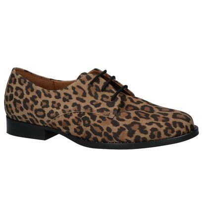 Gabor Chaussures à lacets en Marron en daim (231152)