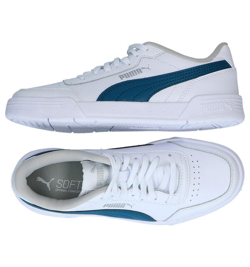 Puma Caracal Zwarte Sneakers in kunstleer (276754)