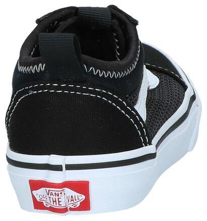 Zwarte Slip-on Sneakers Vans Ward Alt Closure in stof (239759)