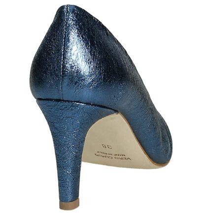 Cristian Daniel Escarpins classique en Bleu en cuir (197707)