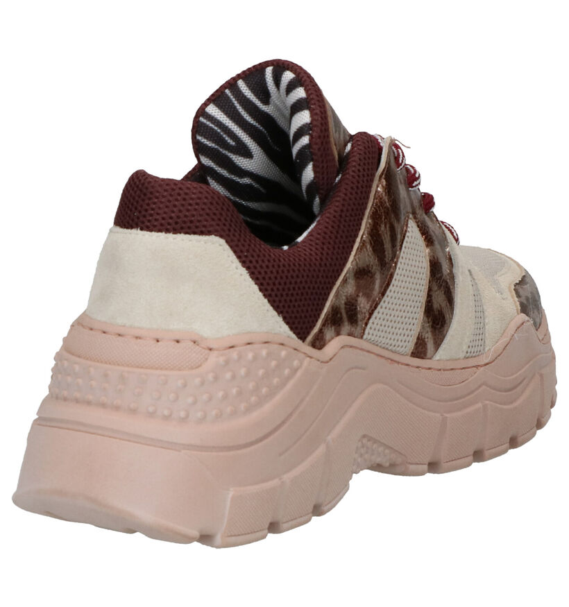 Clue Multicolor Sneakers in daim (262620)