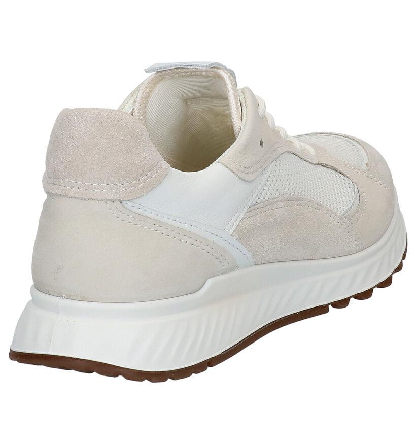 ECCO Chaussures à lacets en Blanc en cuir (275325)