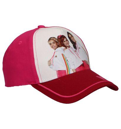 Roze Pet K3 Cap Hearts, Roze, pdp