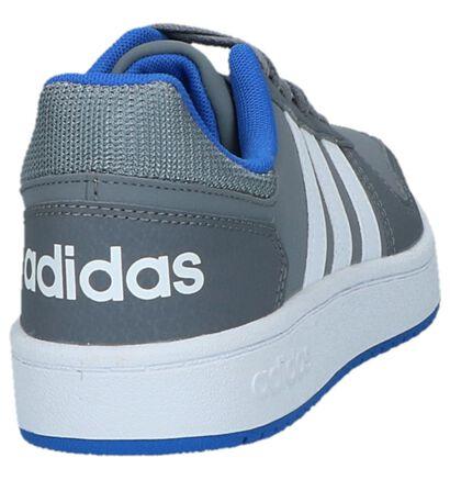 Donkerblauwe Sneakers adidas Hoops 2.0 K, Grijs, pdp