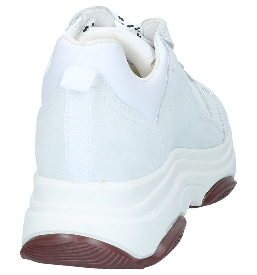 Youh! Baskets basses en Blanc en daim (251375)