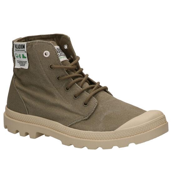 Palladium Pampa Kaki Boots