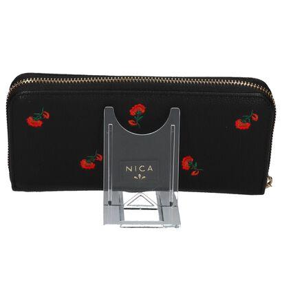 Nica Porte-monnaies à fermeture à glissière  (Noir), Noir, pdp