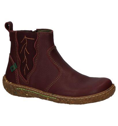 El Naturalista Nido Donker Bruine Boots in leer (226402)