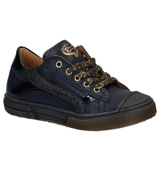 STONES and BONES Maust Chaussures à lacets en Bleu