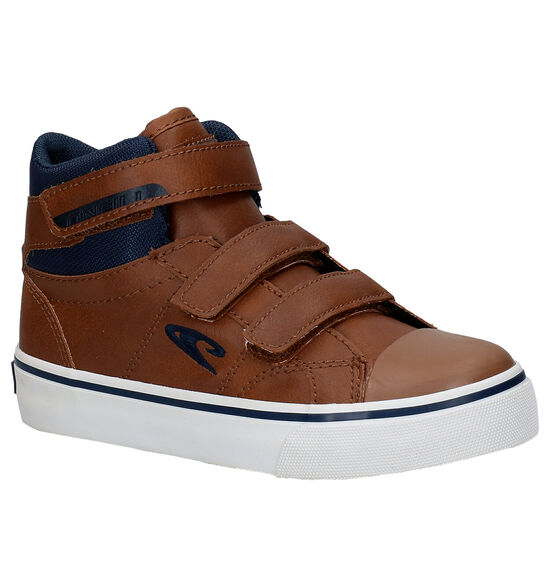 O'Neill Haiku Mid Velcro JR Bottines en Cognac