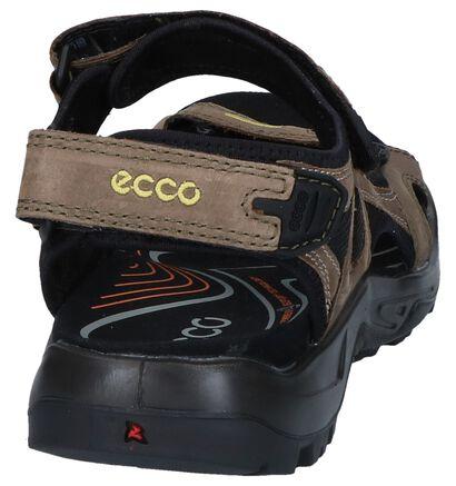 Zwarte Sandalen ECCO Offroad in stof (250300)