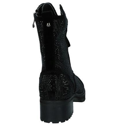 Boots met Steentjes Alma en Pena in velours (229930)