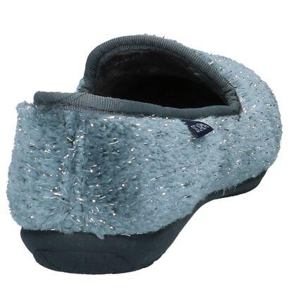 Scapa Grijze Gesloten Pantoffels in stof (227382)