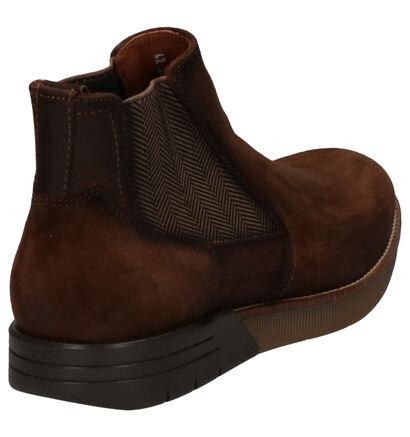 Braend Chaussures hautes en Brun foncé en nubuck (261043)