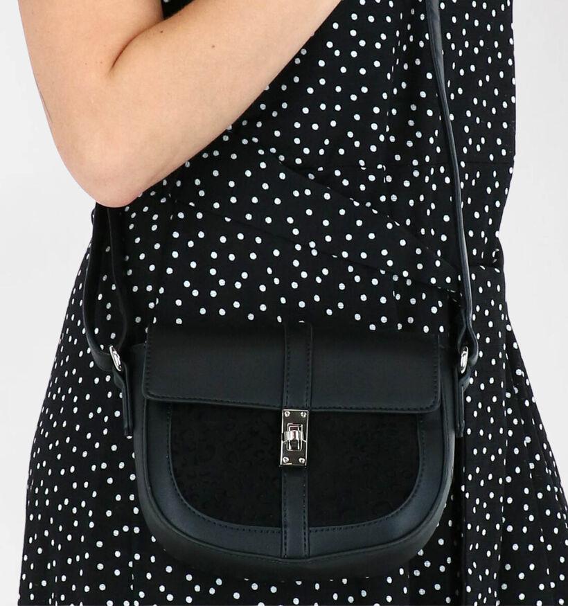 Gabor Leonita Sac porté croisé en Noir en simili cuir (279506)