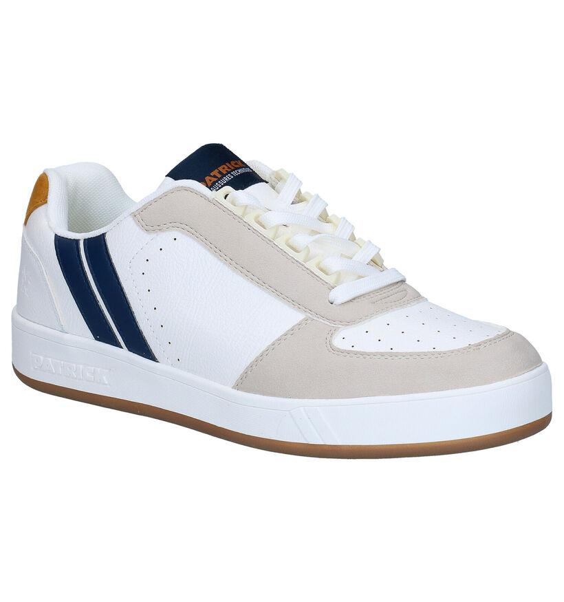 Patrick Vegan Witte Sneakers in kunstleer (291121)