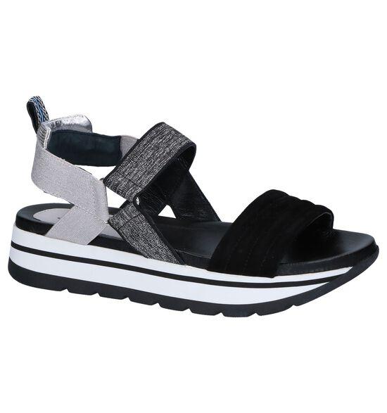 Zwarte Sandalen Maripé