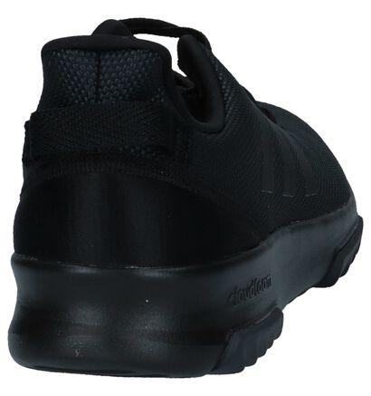 adidas Cloudfoam Racer Zwarte Sneakers in stof (221785)