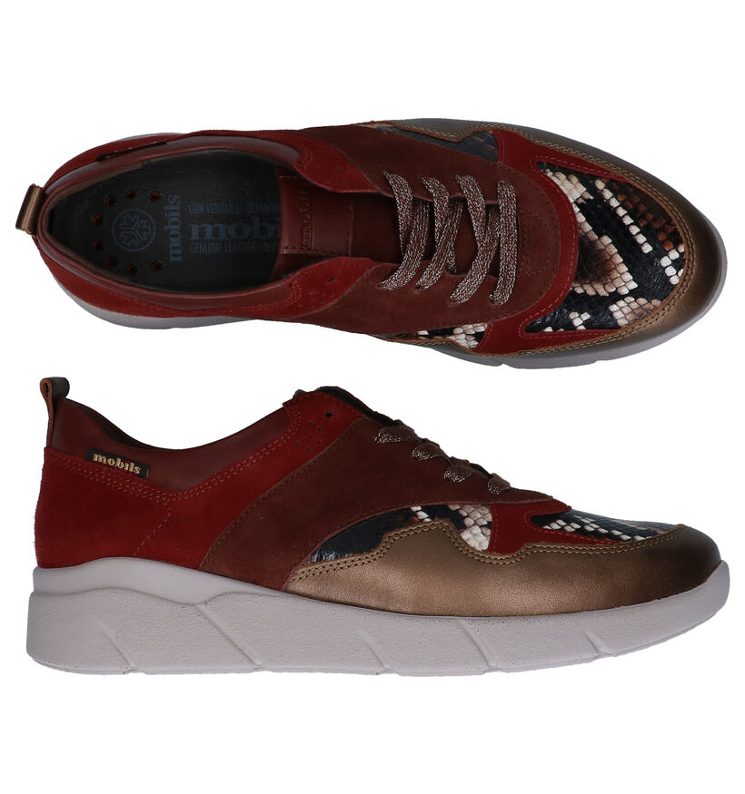 Mobils by Mephisto Imania Chaussures à lacets Multicolore en cuir (281218)