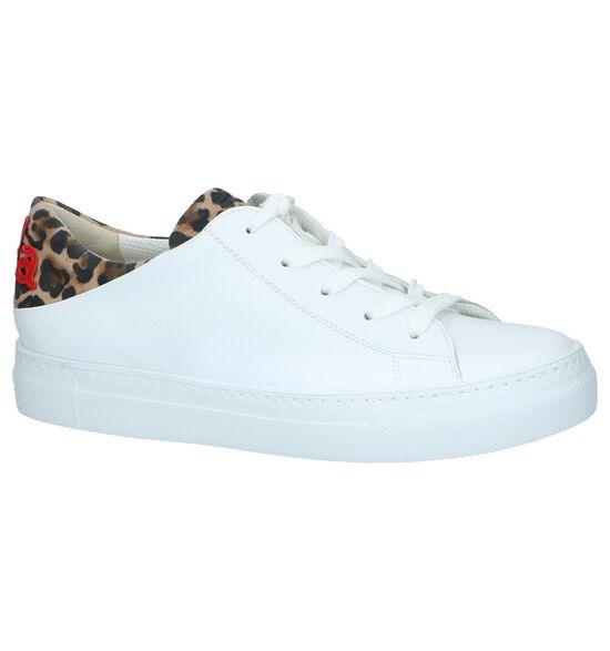 Paul Green Chaussures à lacets en Blanc