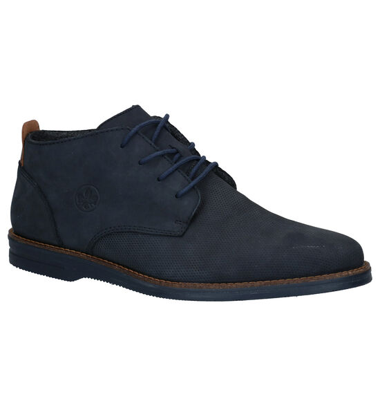 Rieker Chaussures Habillées Hautes en Bleu