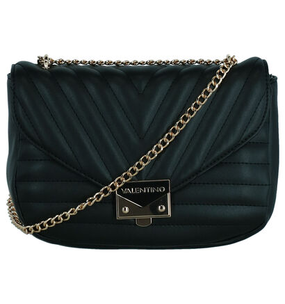 Valentino Handbags Cajon Sac porté croisé en Noir en imitation cuir (259241)