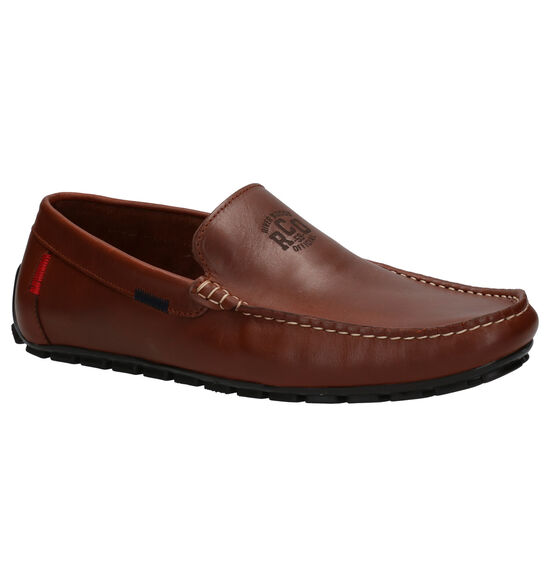River Woods Barry Cognac Mocassins