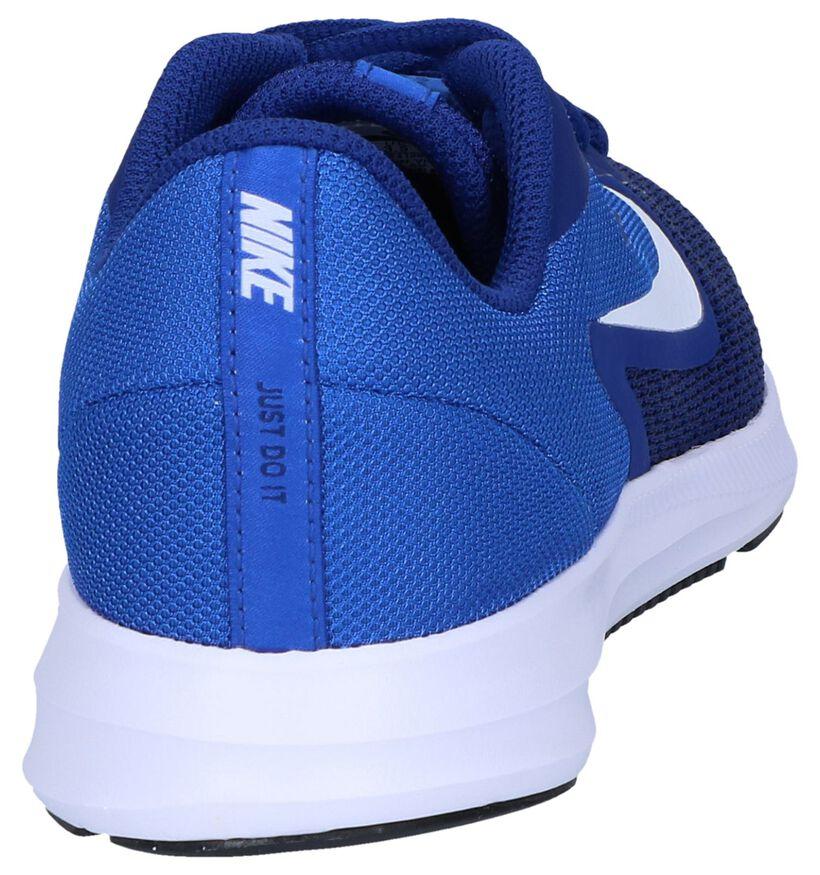 Donkerblauwe Sneakers Nike Downshifter in stof (249841)