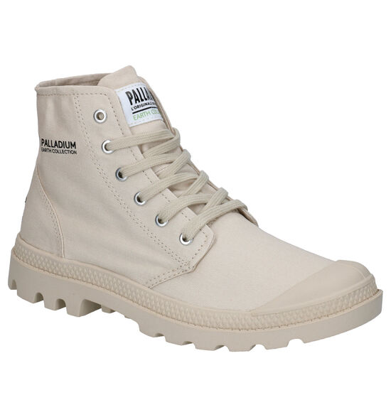 Palladium Hi Organic Beige Boots