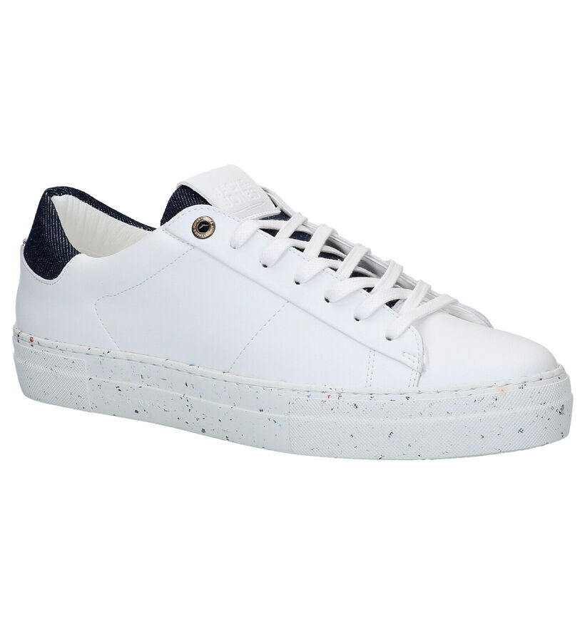 Jack & Jones Baskets basses en Blanc en simili cuir (278263)