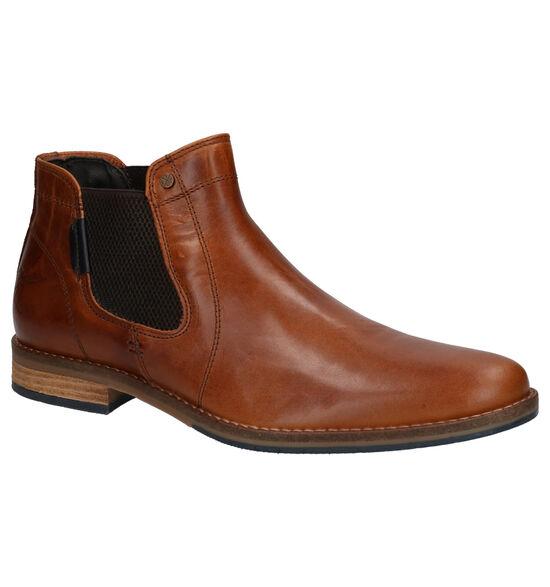 Bullboxer Chelsea Boots en Cognac