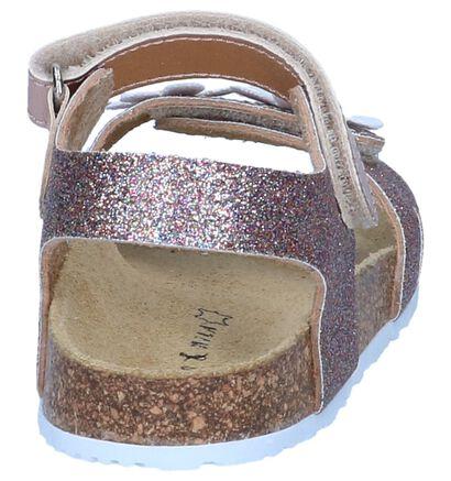 Metallic Roze Sandalen Milo & Mila in kunstleer (245103)