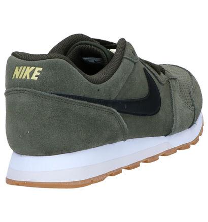 Nike MD Runner 2 Suede Kaki Sneakers in daim (261709)