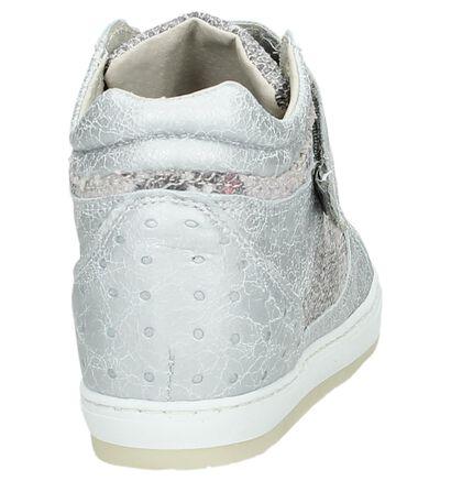 Ragazzi Sport Grijze Sneakers met Slangenprint, Grijs, pdp
