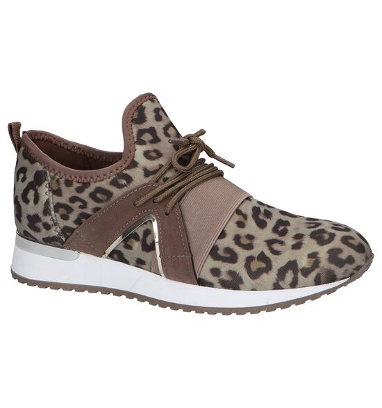 Taupe Slip-on Sneakers Shoecolate