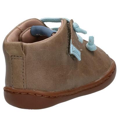 Camper Chaussures hautes en Bleu foncé en cuir (259028)