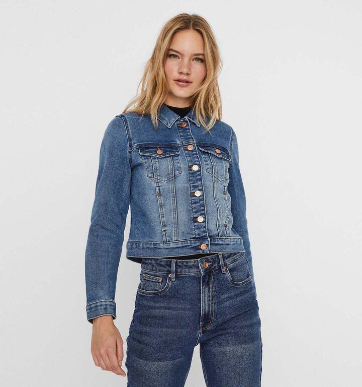 Vero Moda Faith Blauwe Jeansjas